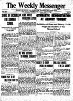 Weekly Messenger - 1921 May 13
