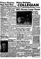 Western Washington Collegian - 1952 April 18
