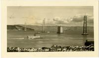 San Francisco - Oakland Bay Bridge under construction