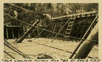 Lower Baker River dam construction 1925-04-24 Concrete Surface Run #83 El.246.8
