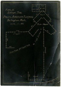 Plan of Salmon Trap - Pacific American Fisheries - Bellingham (Wash.)