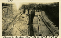 Lower Baker River dam construction 1925-07-29 Concrete Surface Run #176 El.3685