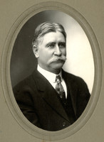 Studio portrait of Ed Cowgill