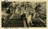 Lower Baker River dam construction 1925-07-13 E. Side 4th Floor
