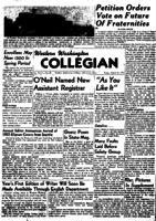 Western Washington Collegian - 1950 March 31