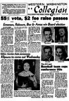 Western Washington Collegian - 1958 May 29