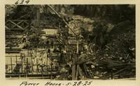 Lower Baker River dam construction 1925-05-28 Power House