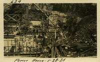 Lower Baker River dam construction 1925-05-28 Power House