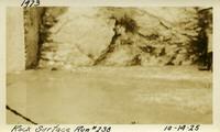Lower Baker River dam construction 1925-10-14 Rock Surface Run #238