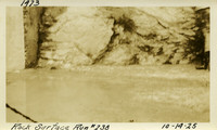 Lower Baker River dam construction 1925-10-14 Rock Surface Run #238