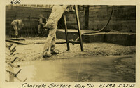 Lower Baker River dam construction 1925-05-22 Concrete Surface Run #111 El.294