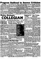 Western Washington Collegian - 1951 July 13