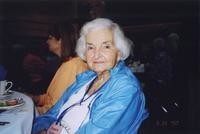 2007 Reunion--Frances (Winslow) Sudduth at the Banquet