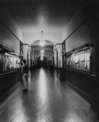 1947 Main Building: Interior Hallway