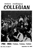 Western Washington Collegian - 1960 September 30
