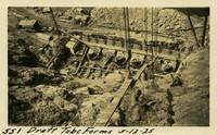 Lower Baker River dam construction 1925-05-12 Draft Tube Forms
