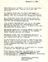 AS Board Minutes 1950-12
