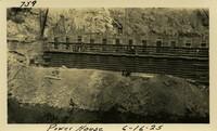 Lower Baker River dam construction 1925-06-16 Power House