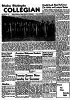 Western Washington Collegian - 1953 June 19