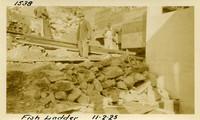 Lower Baker River dam construction 1925-11-02 Fish Ladder