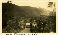 Lower Baker River dam construction 1925-11-06 Lake Shannon (with railroad trestle)