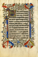 French Book of Hours circa early 1400 [item 317]