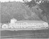 1943 Campus School Building West Facade
