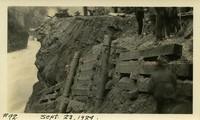 Lower Baker River dam construction 1924-09-23 Post flood