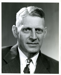 Studio portrait of unidentified man