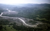 North Fork Toutle River from the air.