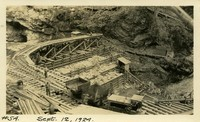 Lower Baker River dam construction 1924-09-12 Diversion dam