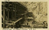 Lower Baker River dam construction 1925-06-04 East Side of Power House