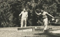 1946 Campus Day: Horseshoe Contest