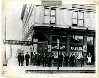 Jacob Beck's Grandview Hotel, Holly and Cornwall Avenue, Bellingham, Washington.