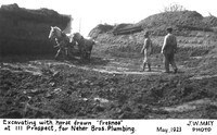 Excavating at 111 Prospect