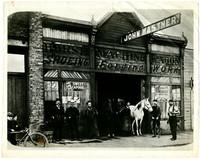 Bellingham business (possibly Kastner's blacksmith shop)