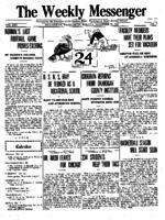 Weekly Messenger - 1921 November 21