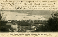 State Normal School overlooking Bellingham Bay and City