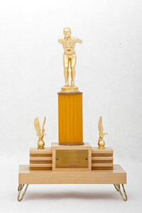 Swimming (Men's) Trophy: Evergreen Conference Champions (front), 1956