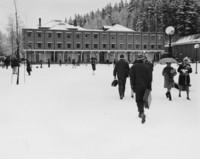 1969 Humanities Building: Snowstorm
