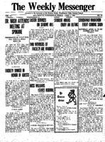 Weekly Messenger - 1921 April 1