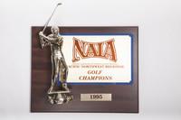 Golf (Men's) Plaque: NAIA Pacific Northwest Regional Champions, 1995