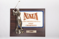 Golf (Men's) Plaque: NAIA Pacific Northwest Regional Champions, 1995