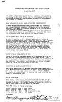 WWU Board minutes 1937 November