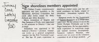 New shorelines members appointed