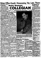 Western Washington Collegian - 1953 October 2