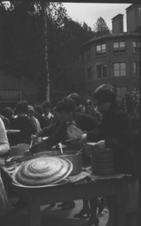 1927 Campus Day: Serving Line