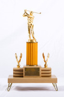 Golf (Men's) Trophy: Evergreen Conference Champions, 1955