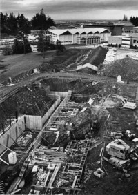 1973 Arntzen Hall: Construction
