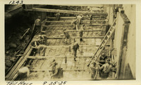 Lower Baker River dam construction 1925-08-25 Tail Race